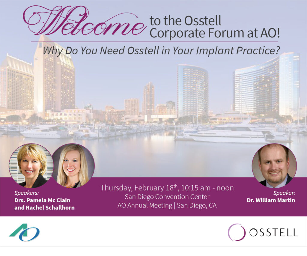 Osstell Corporate Forum at AO 2016