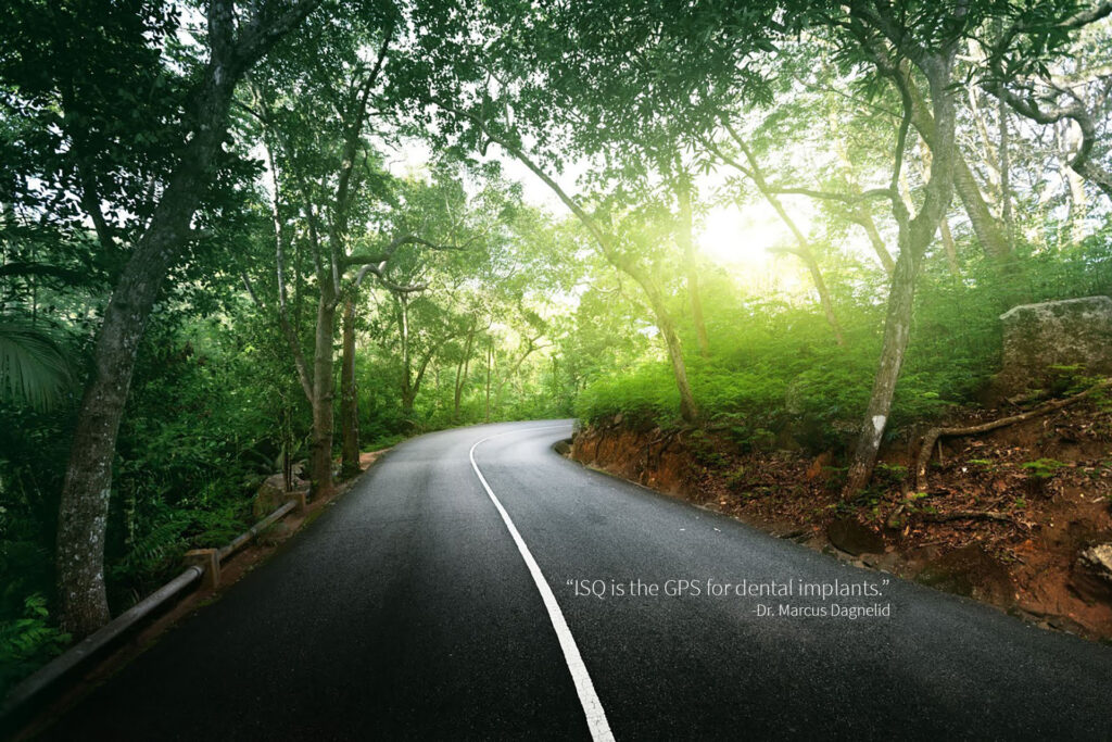 Website Banner - ISQ is the GPS quote